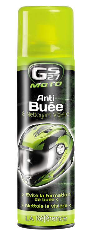 Anti-buée et nettoyant visière GS27