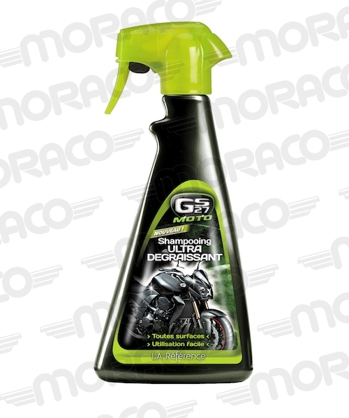 Shampooing moto ultra dégraissant GS27