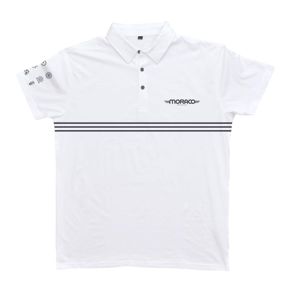 Polo Moraco MC Blanc Taille XL