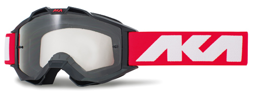 Masque AKA Vortika Sport Noir, rouge