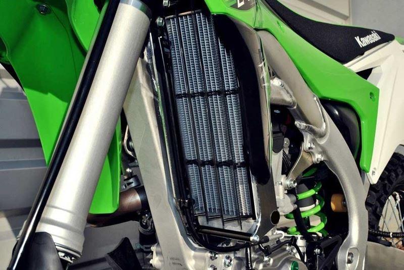 Protection De Radiateur UP Kawasaki MX1366