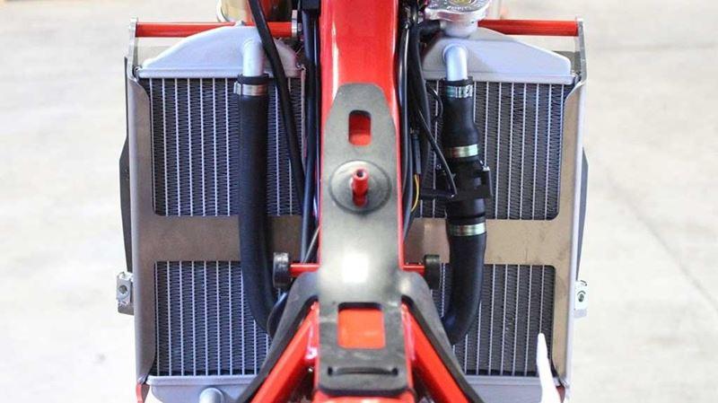 Protection De Radiateur UP Gas-gas MX1442