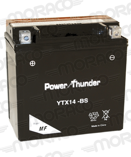 Batterie Power Thunder YTX14-BS