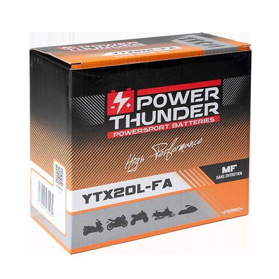 BATTERIE POWER-THUNDER YTX20L (FA)