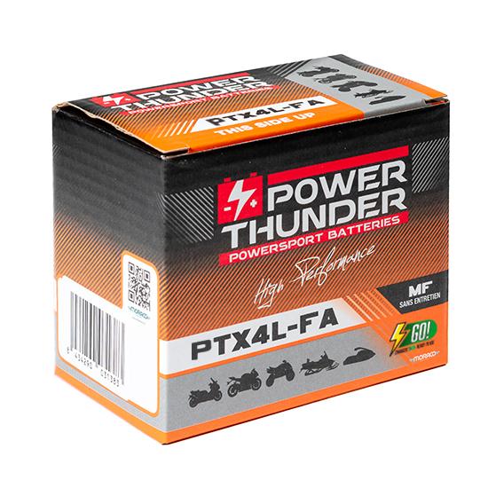 BATTERIE POWER-THUNDER YTX4L (FA)