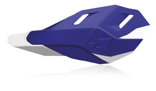 RHP3ENDBLBN0 Protège mains HP3 kit montage inclus bleu/blanc