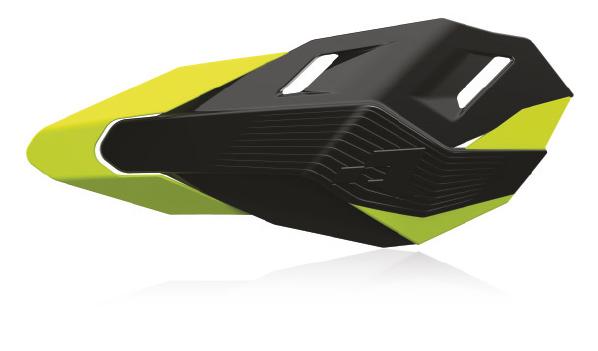 RHP3ENDNRGF0 Protège mains HP3 kit montage inclus noir/jaune