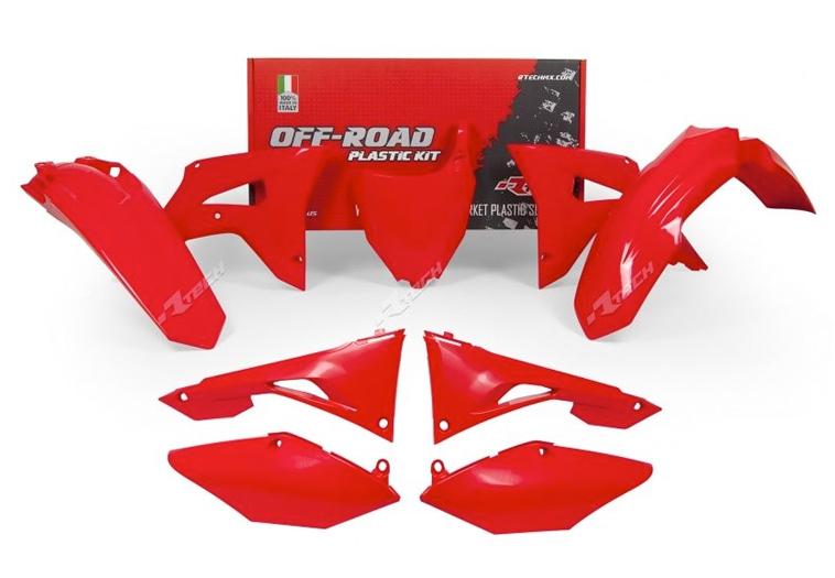 Kits plastique Honda rouge