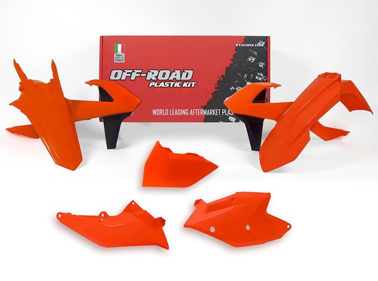 kits plastique KTM orange fluo