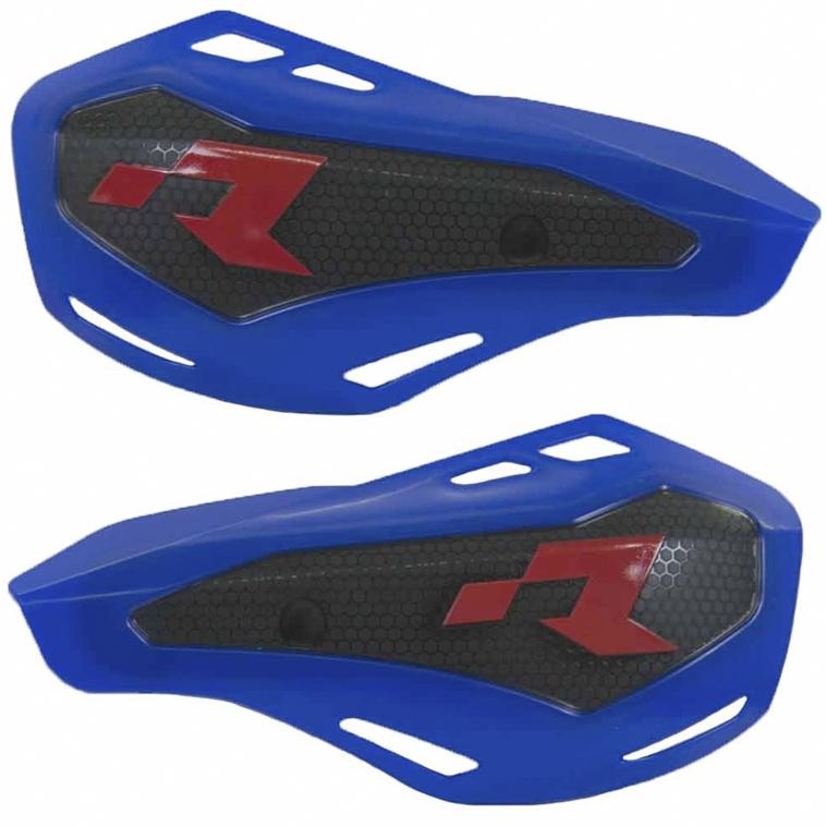Protège mains bleu HP1 avec kit montage