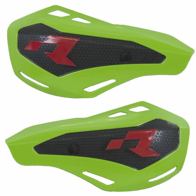 Protège mains vert HP1 avec kit montage