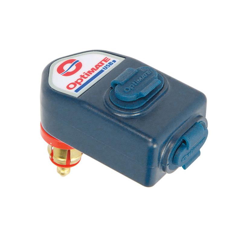 O-105 Chargeur USB 2 sorties  T105 TECMATE (3300mA