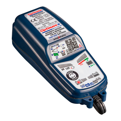 *OPTIMATE 5 Select 6/12V TM-320 CHARGEUR-TESTEUR