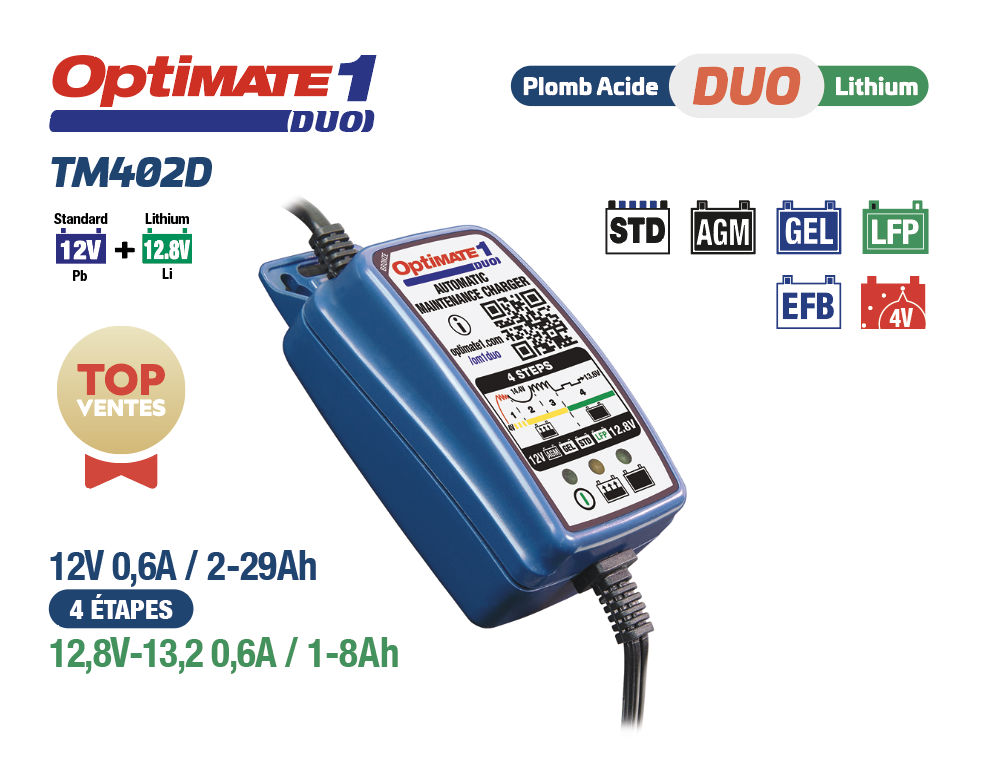 OPTIMATE 1 DUO TM402-D