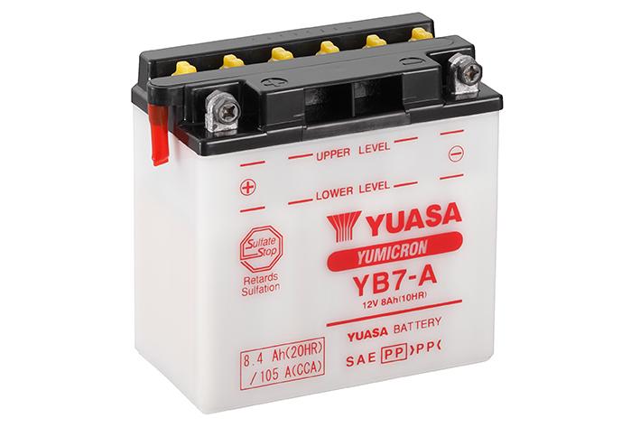 BATTERIE YUASA YB7-A