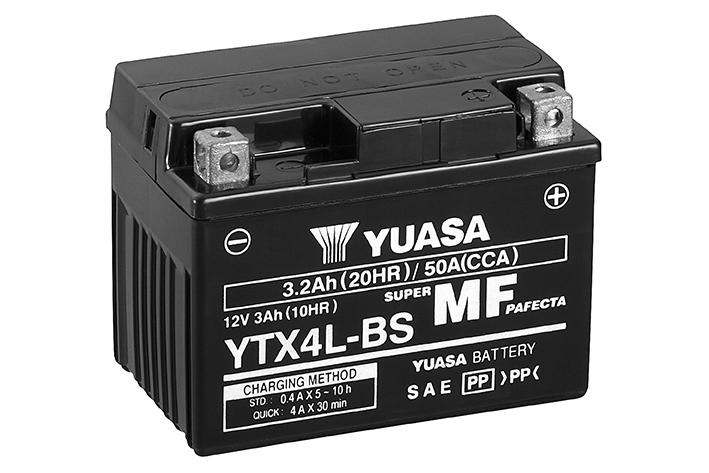 BATTERIE YUASA YTX4L-BS