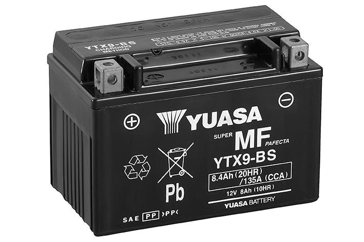 BATTERIE YUASA YTX9-BS