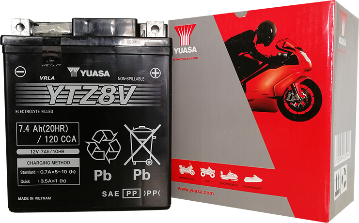 Batterie Yuasa YTZ8V
