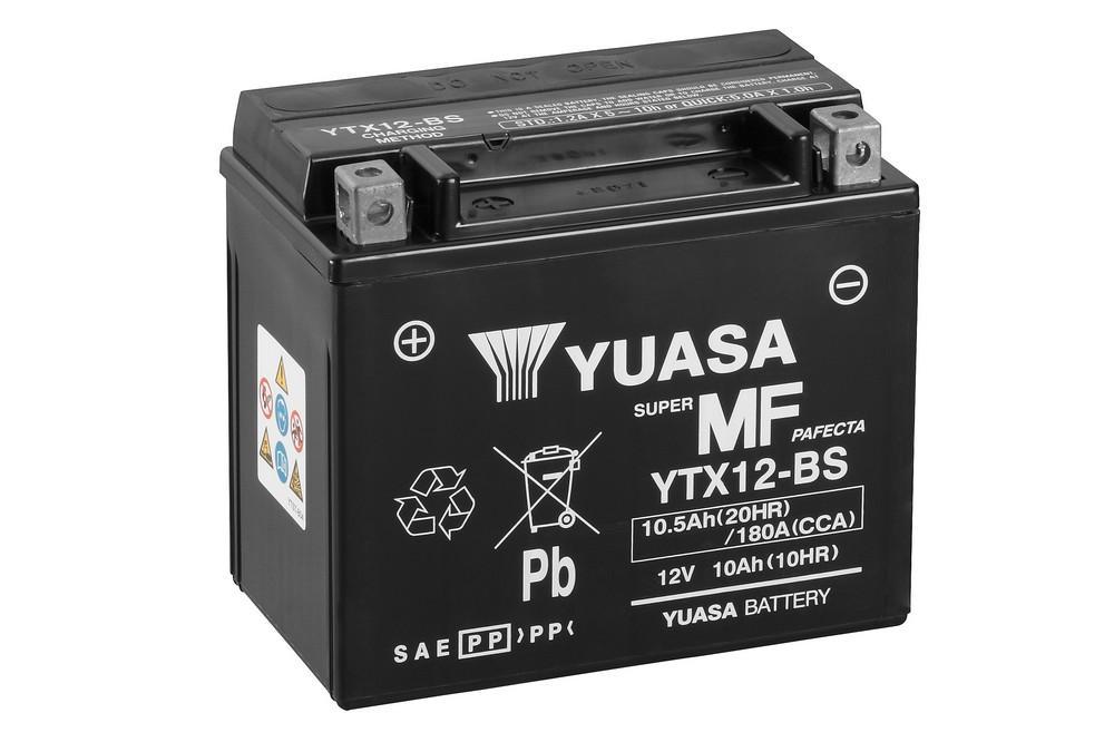 BATTERIE YUASA YTX12 (FA)